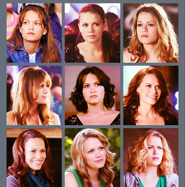 The evolution of Haley James Scott