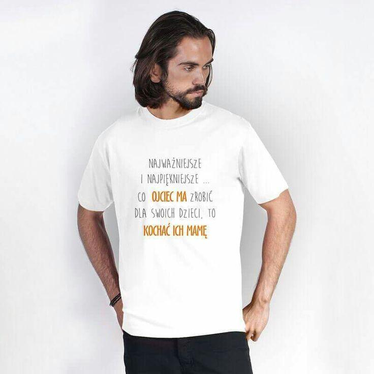 Koszulka dla taty www.reklamowe.co #koszulka #tshirt #prezent #dzientaty #dad