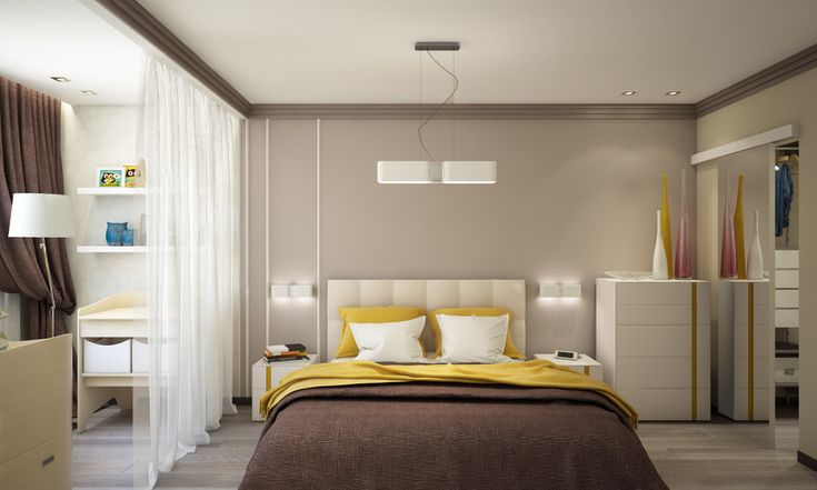 http://boomzer.com/artistic-apartment-designs-idealy-for-junior-families/small-bedroom-ideas-white-transparancy-curtains-standing-lamp-wooden-floor-ceiling-lamp-shade-wall-lamp-downlight-baby-nursing-file-cabinets-chocolate-bedcover-yellow-curved/
