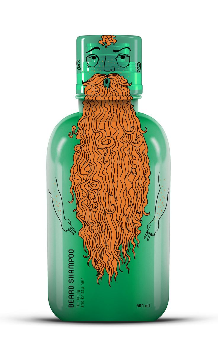 Elizabeth Kopay-Gora - Beard Shampoo (project) #packaging #design blog World Packaging Design Society│Home of Packaging Design│Branding│Brand Design│CPG Design│FMCG Design