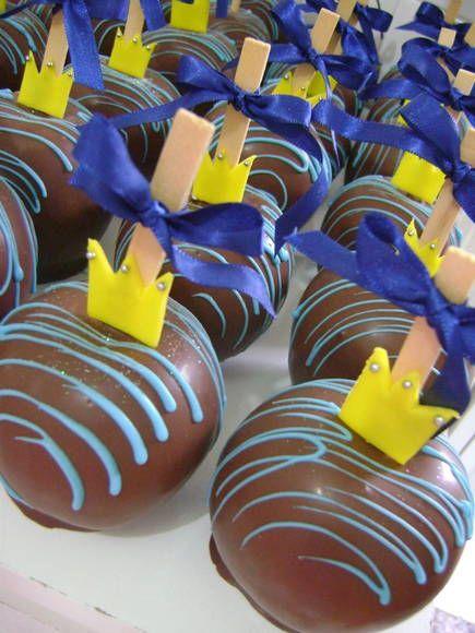Maça chocolate - Pequeno Principe