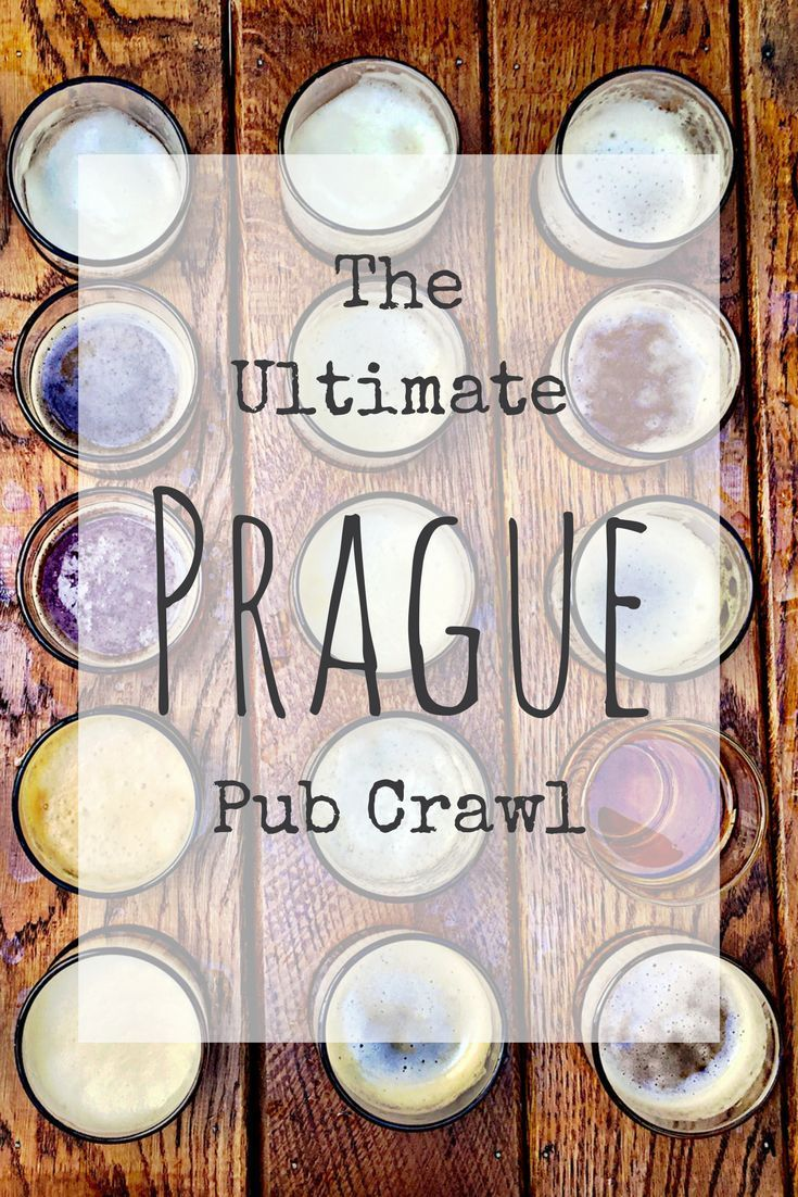 Get your party on at the best bars in Prague. The ultimate Prague pub crawl.   Prague Travel   Europe   Best bars in Prague