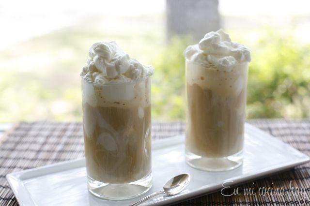 Café helado casero