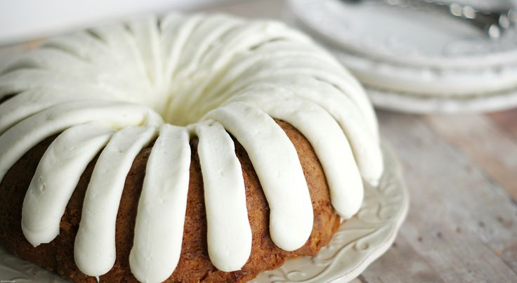 White Chocolate Raspberry Bundt Cake (copycat version of Nothing Bundt Cakes)