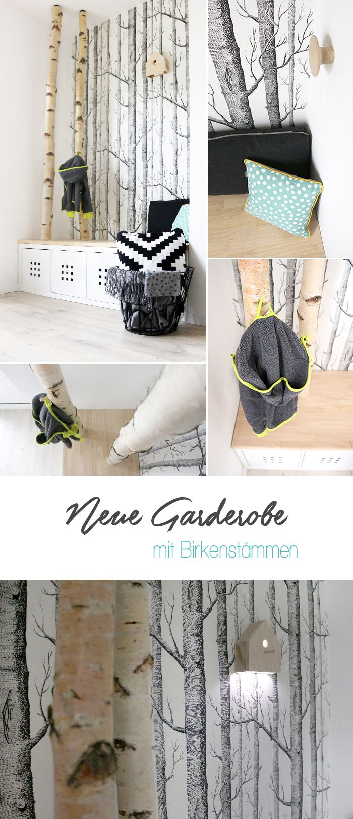 25 best ideas about selbermachen garderobe on pinterest for Garderobe birke