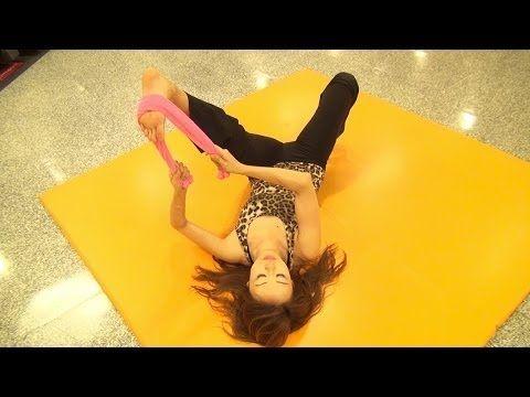 痛いっ!!!けど効果バツグンのむくみ解消美脚ストレッチ!(シェイクヨガ泉栄子先生) #Eiko - YouTube