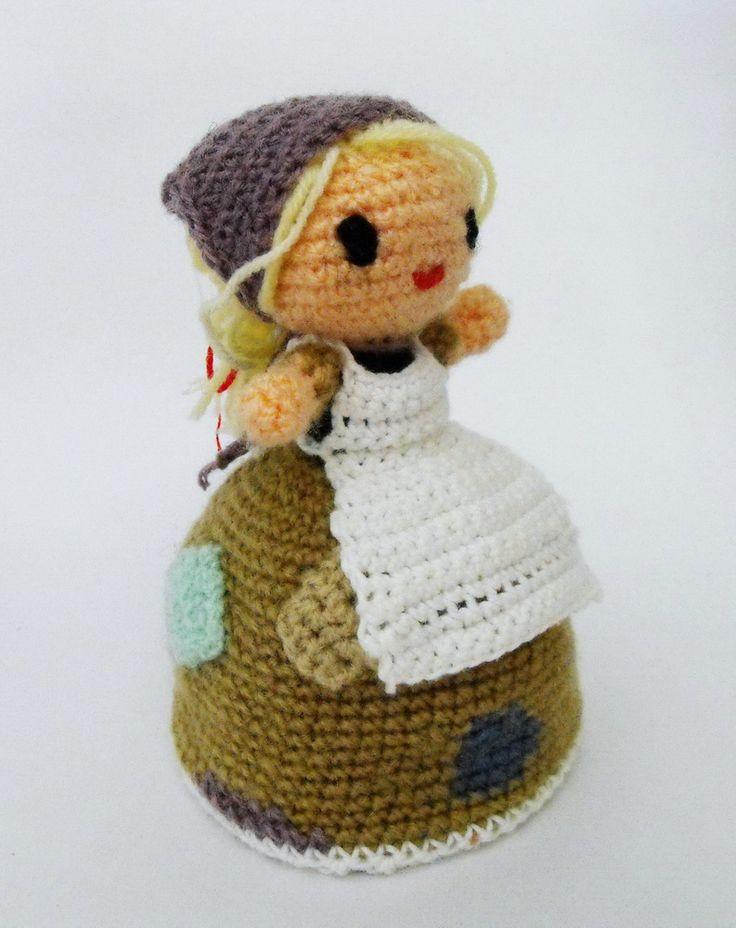 97 best muñecas ganchillo images on Pinterest | Crochet dolls ...