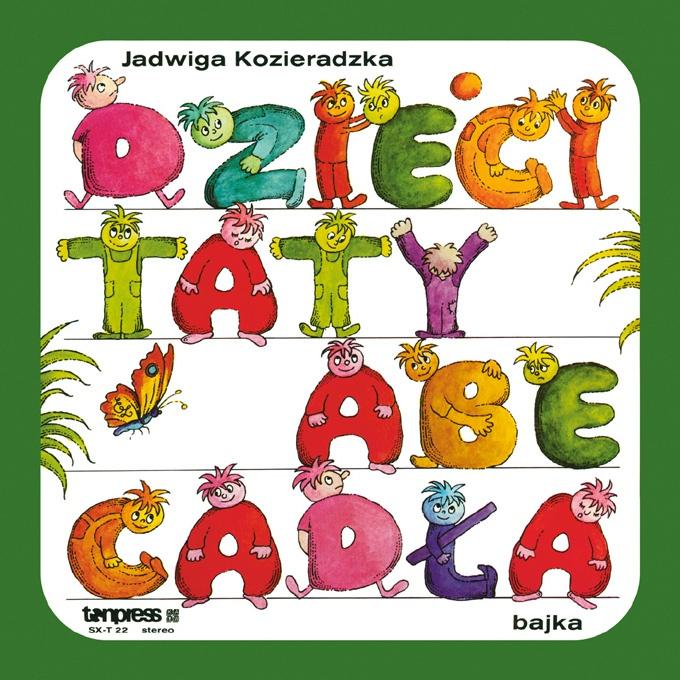 """Bajki-Grajki nr 91 """"Dzieci Taty Abecadła""""  ww.bajki-grajki.pl"""