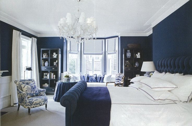 Navy Blue Interior Design Idea Kerry Interior Design Hamptons American Style Decorating Blue