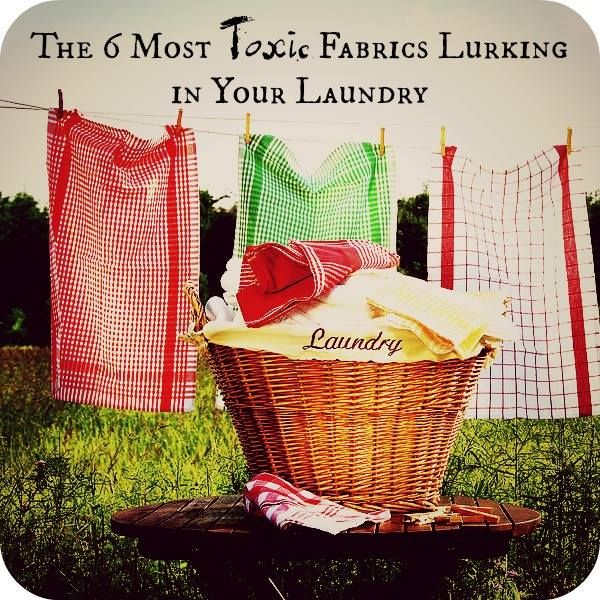 There is a Sinister Six of synthetic fabrics that are doing your body some serious harm. It's time for a closet detox, ASAP! Discover the toxins in your clothes and how to fix the situation on the blog.