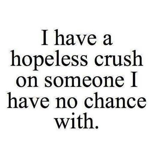 <3 hopeless crush. #quote Can't get any truer!! I know I've pin this like 100 times but still!