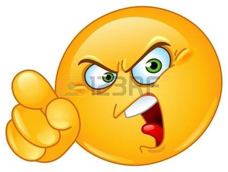 Ms de 25 ideas increbles sobre Emoticon enojado en Pinterest