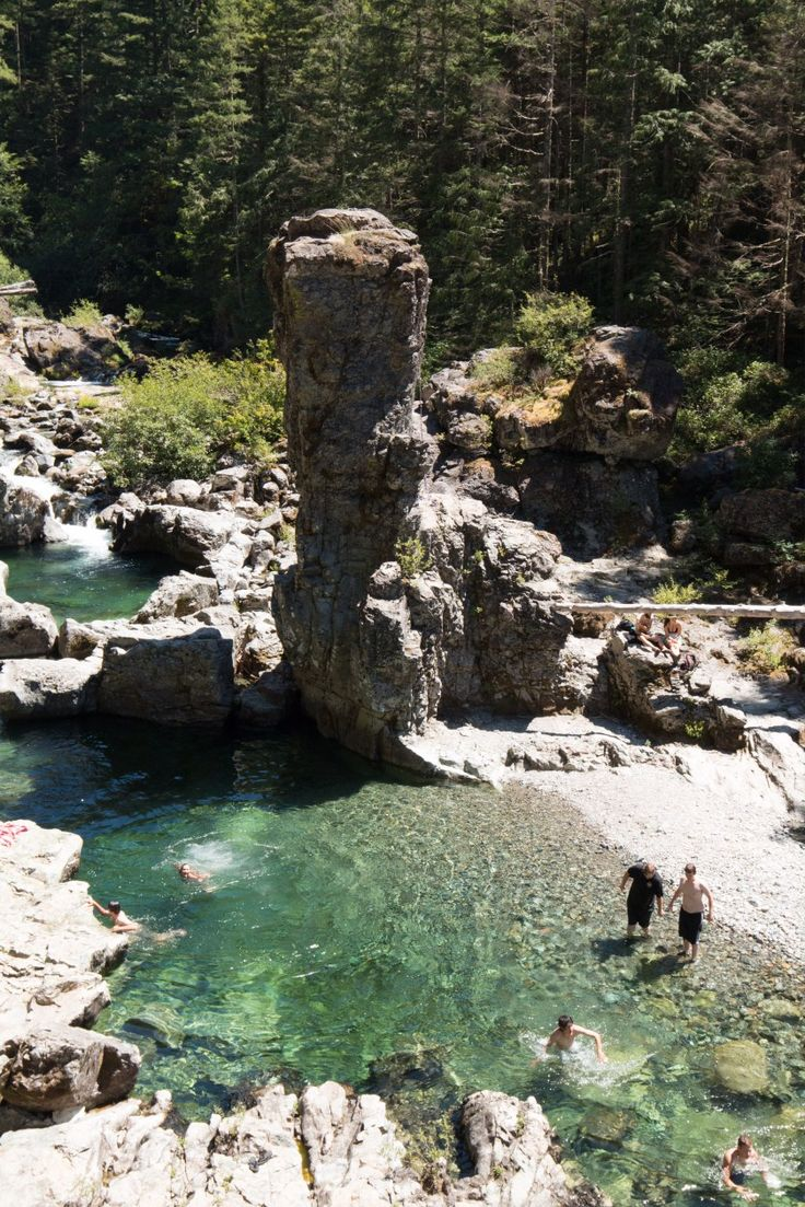 The Best Of Oregon - three pools
