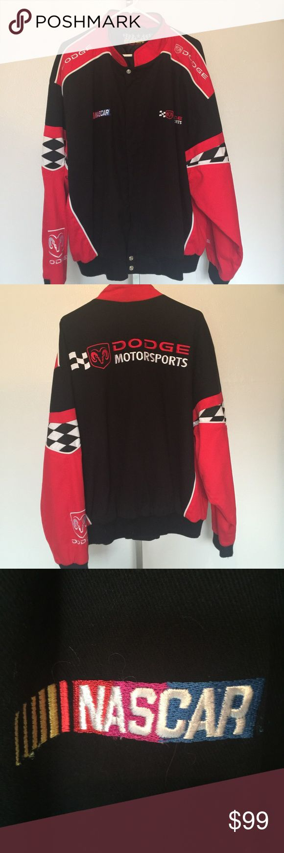 NASCAR jacket (Men's).  NWOT Men's XL NASCAR jacket, Cotton exterior, polyester lined. Brand new, never used. Gifted to my husband but it was too big. Essex Jackets & Coats Bomber & Varsity