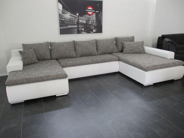 Xxl sofa u form  Die besten 25+ Big ecksofa Ideen auf Pinterest | Sofas, Big sofa ...