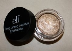 (Elf Long Lasting eyeshadow in Toast. So pretty!