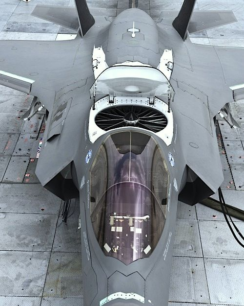 F-35 ready for vertical takeoff