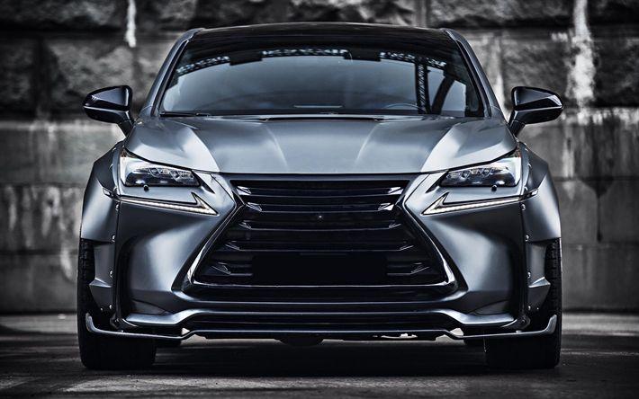 Télécharger fonds d'écran Lexus NX, tuning, 2018 voitures, véhicules multisegments, tunned NX, Lexus