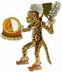 ancient warriors pics | Jaguar Aztec warrior