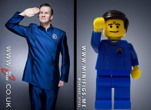 Red Dwarf Arnold Rimmer Custom Minifigure.