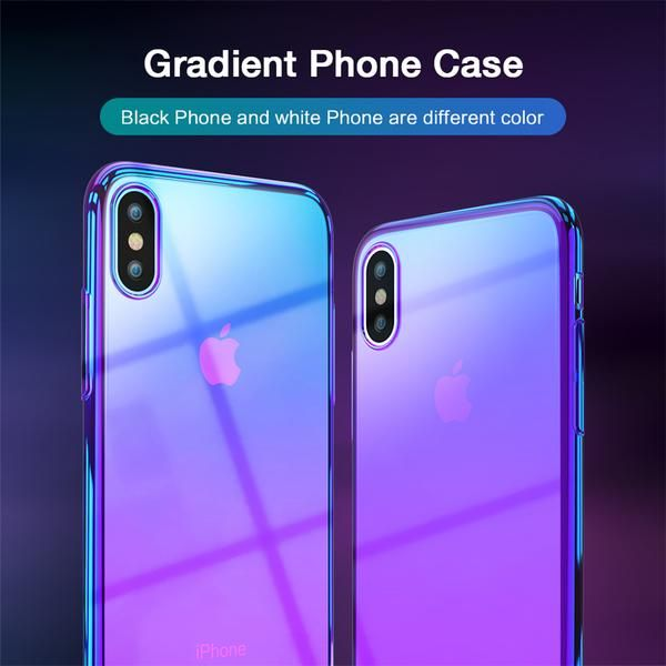 Apple iPhone X Case Color Gradient