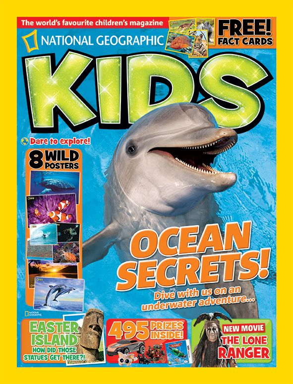 National Geographic Kids, August 2013