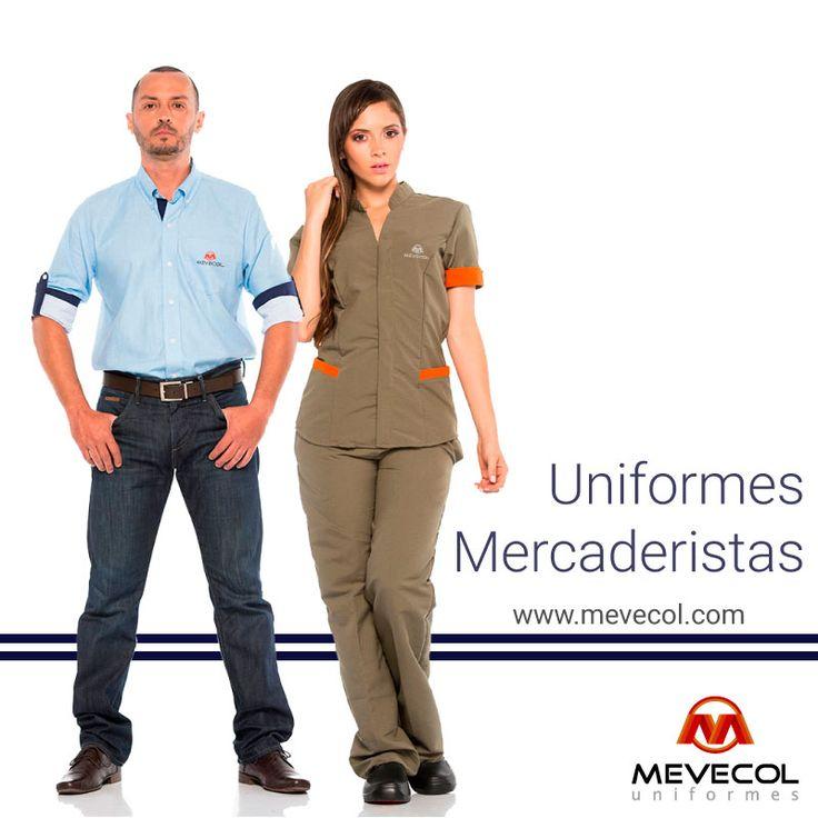 #Mercaderistas #UniformesCorporativos #ImagenCorporativa #UniformesEmpresariales #DiseñoDeUniformes #Mevecol #Colombia