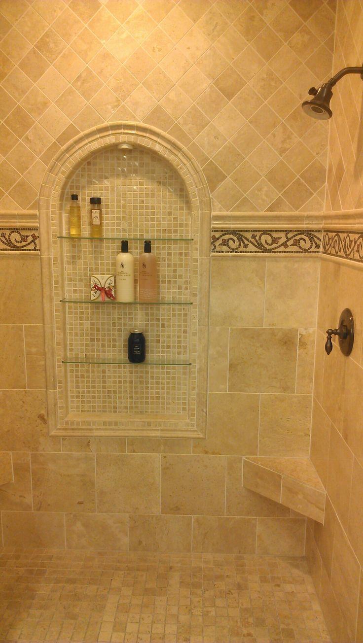 De 25 Bedste Id 233 Er Inden For Travertine Shower P 229 Pinterest
