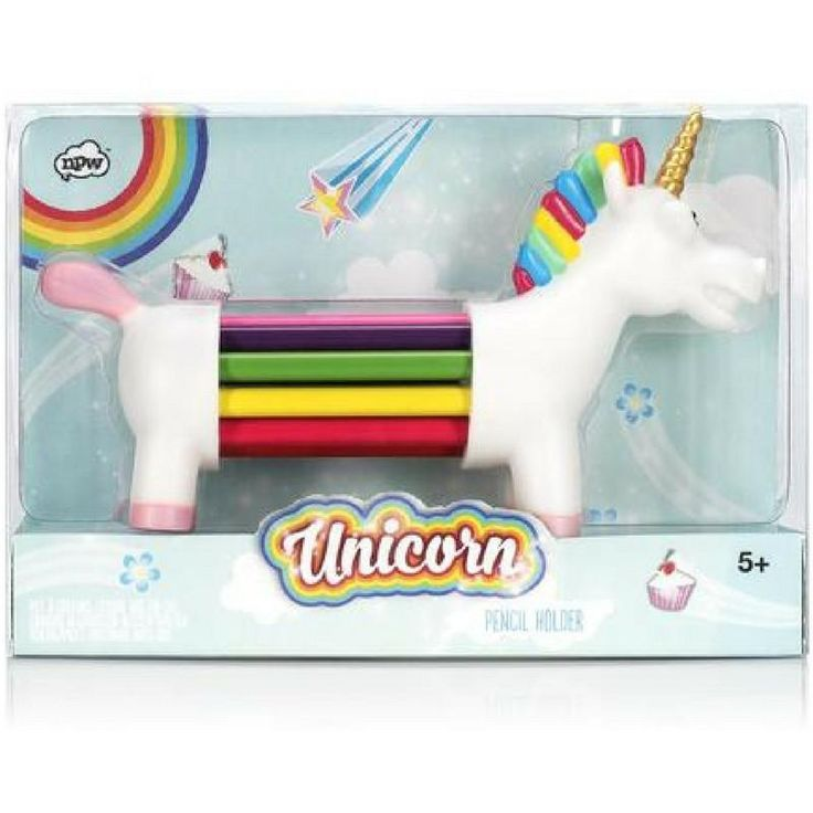 Unicorn Pencil Holder by NPW