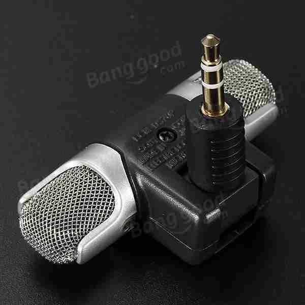 Mini Digital Stereo Microphone for Recorder Laptop PC Skype MSN Sale - Banggood.com