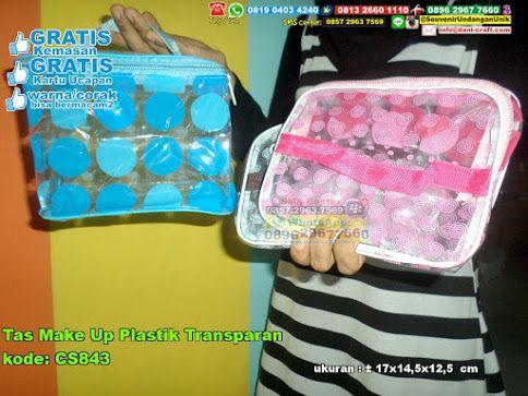 Tas Make Up Plastik Transparan Hub: 0895-2604-5767 (Telp/WA)Tas make up, tas plastik, tas transparan, tas simple, tas elegan, tas unik, tas ukuran sedang, tas lucu #taselegan #tassimple #taslucu #tasunik #tastransparan #tasukuransedang #tasplastik #souvenir #souvenirPernikahan