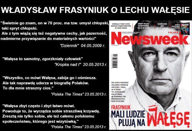 pawel pawlowicz newsweek frasyniuk
