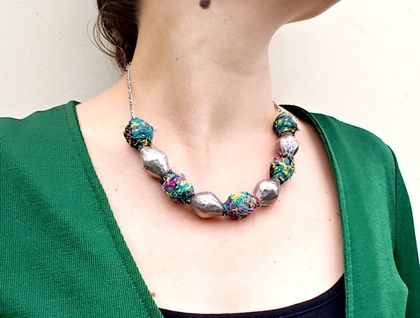 Statement Necklace - Ethnic-Boho Style
