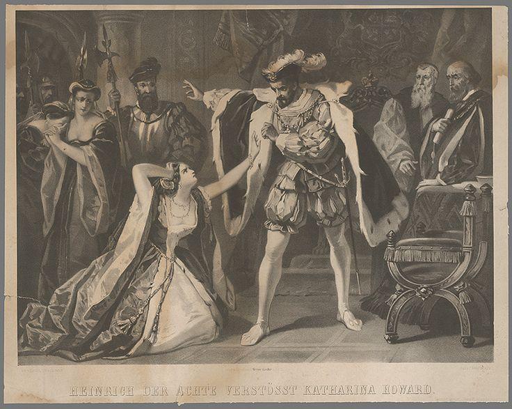 Gustav Bartsch - Henrich VIII odvrhuje Katarínu Howard