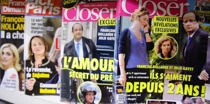 L'affaire Hollande Gayet dans les médias (Auteurs : Zacharie Scheurer/AP/SIPA)