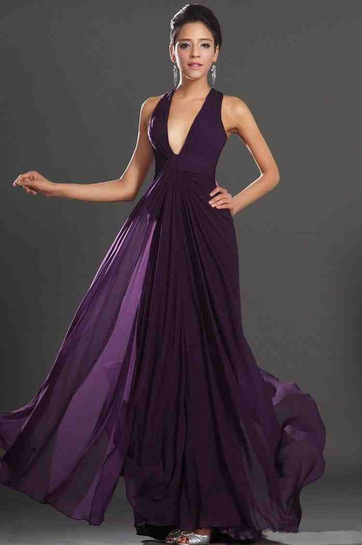 67 best long bridesmaid dresses images on pinterest dress long long dark purple bridesmaid dresses ombrellifo Image collections