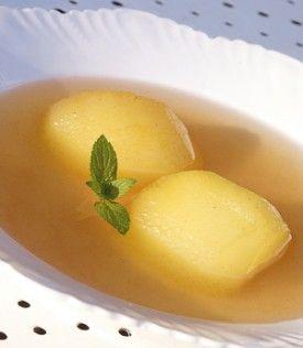 Appelsoep met kaneel en verse munt - Recepten - Culinair - KnackWeekend.be - met Fuji OER-fruit