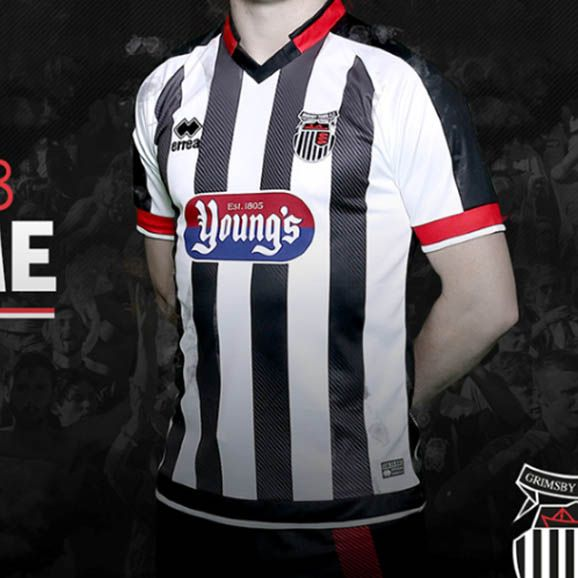 Grimsby Town 17-18 Home Kits Released - Footy Headlines