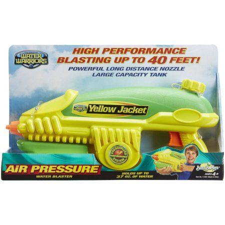 Buzz Bee Toys Water Warriors Yellow Jacket Water Blaster, Multicolor
