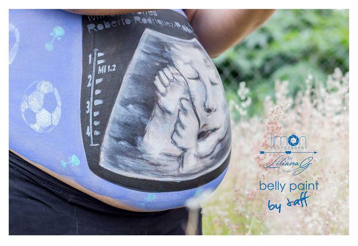 #bellypaint #bytaff #ecosonograma #esniño #azul