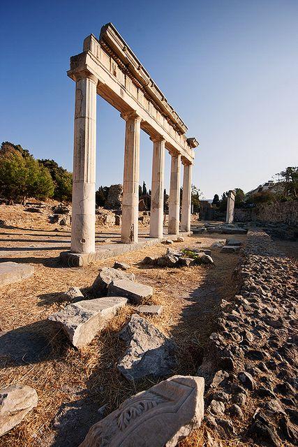 Still standing...... #KosTown, #Greece