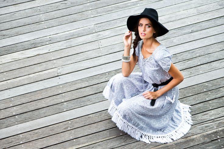 Naudic Spring 15 best selling Sao Paulo Dress in 'Star Silver'
