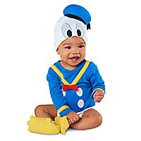 Donald Duck Costume Bodysuit Set for Baby - Personalizable