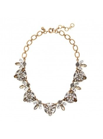 J Crew Radiating Triangles Necklace $59