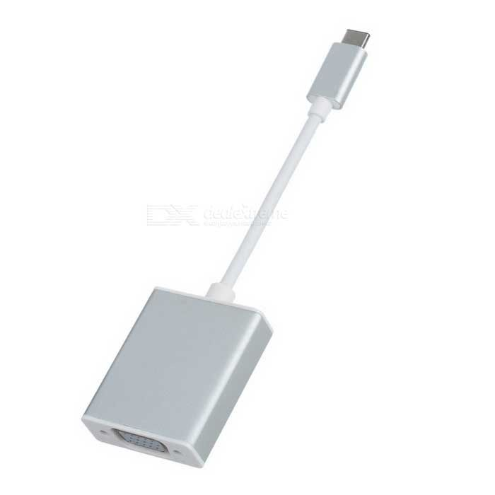 U3-317-SL 1080p HDTV Adapter Cable with Aluminum Case for 2015 New 12 Inch Macbook. Find the cool gadgets at a incredibly low price with worldwide free shipping here. USB-C USB 3.1 Type C to VGA Adapter Cable - Silver (20cm), Computer Cable&Adapter, . Tags: #Computers/Tablets #Networking #Cables #Adapters #Computer #Cable #Adapter