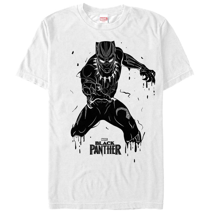Mens - Marvel Black Panther 2018 Drip Pattern