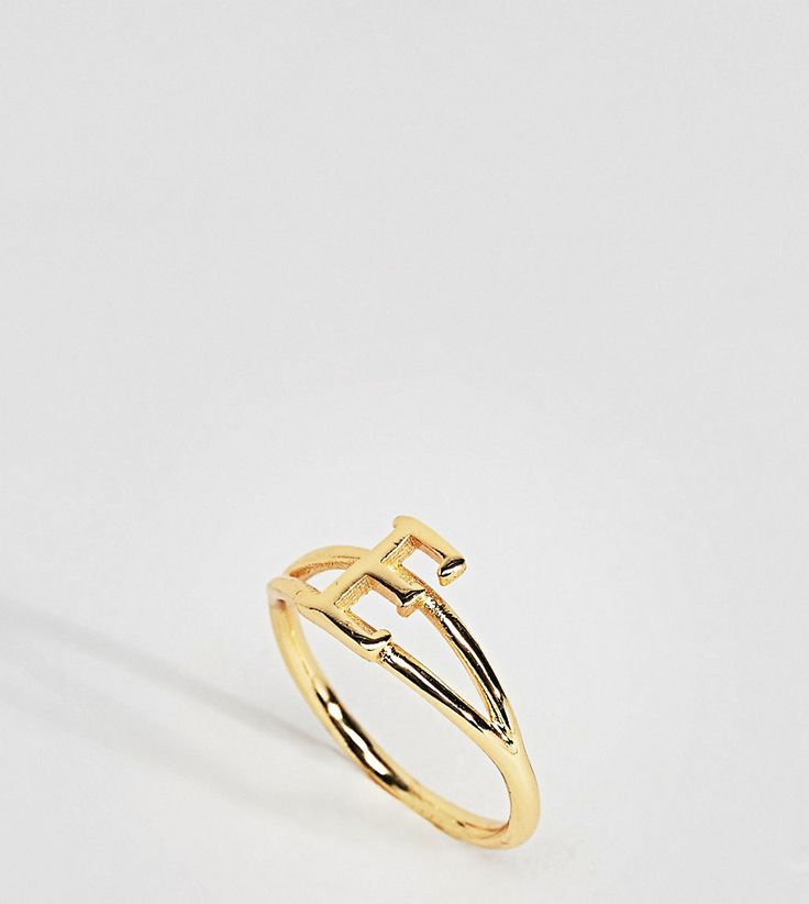 "Rock N Rose - Monogramm-Ring mit Buchstabe ""E - Gold Jetzt bestellen unter: https://mode.ladendirekt.de/damen/schmuck/ringe/goldringe/?uid=3d97f115-3e11-57c9-828c-0a00be5566f0&utm_source=pinterest&utm_medium=pin&utm_campaign=boards #schmuck #ringe #sale #uhren #female #goldringe"