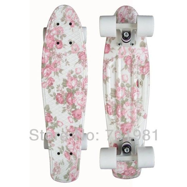 Skateboard Longboard ❤ liked on Polyvore featuring skateboards, fillers, board, penny boards and skates