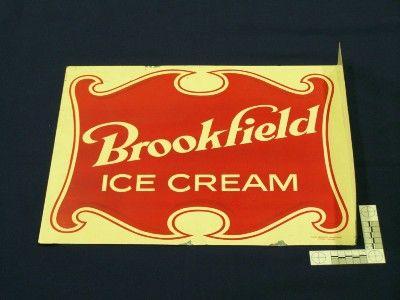 Brookfield Ice Cream sign