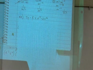 Video - How to determine the degree of a polynomial